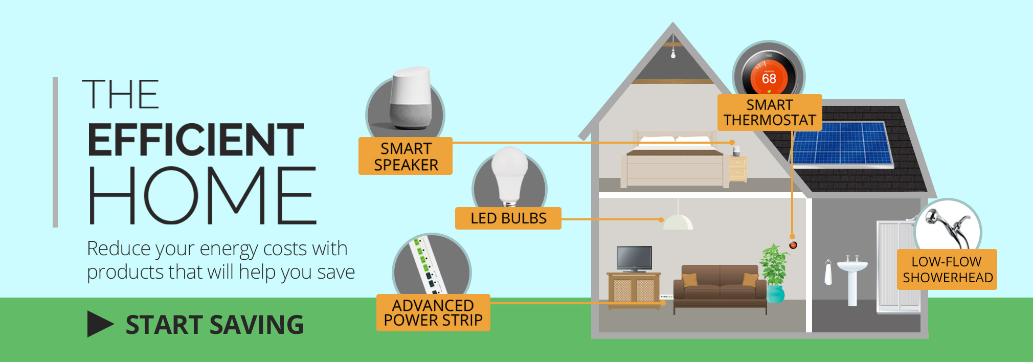 Reduce your energy costs with products that will help you save.